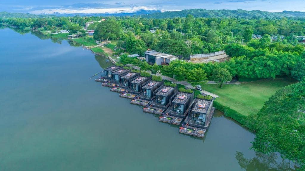 รีวิว!! 12 ที่พักกาญจนบุรี 4 - 5 ดาว สวย ๆ ติดแม่น้ำ วิวหลักล้าน!