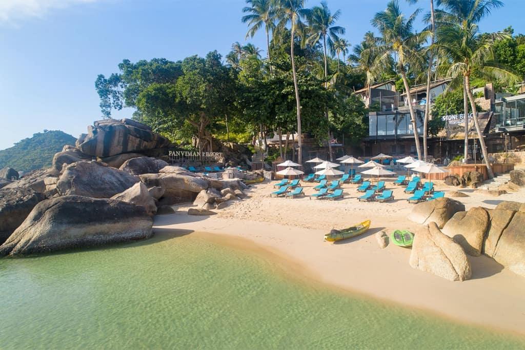 10 ที่พักเกาะพะงัน ติดทะเล มีหาดส่วนตัว เริ่มต้นแค่ 495 บาท/คืน!