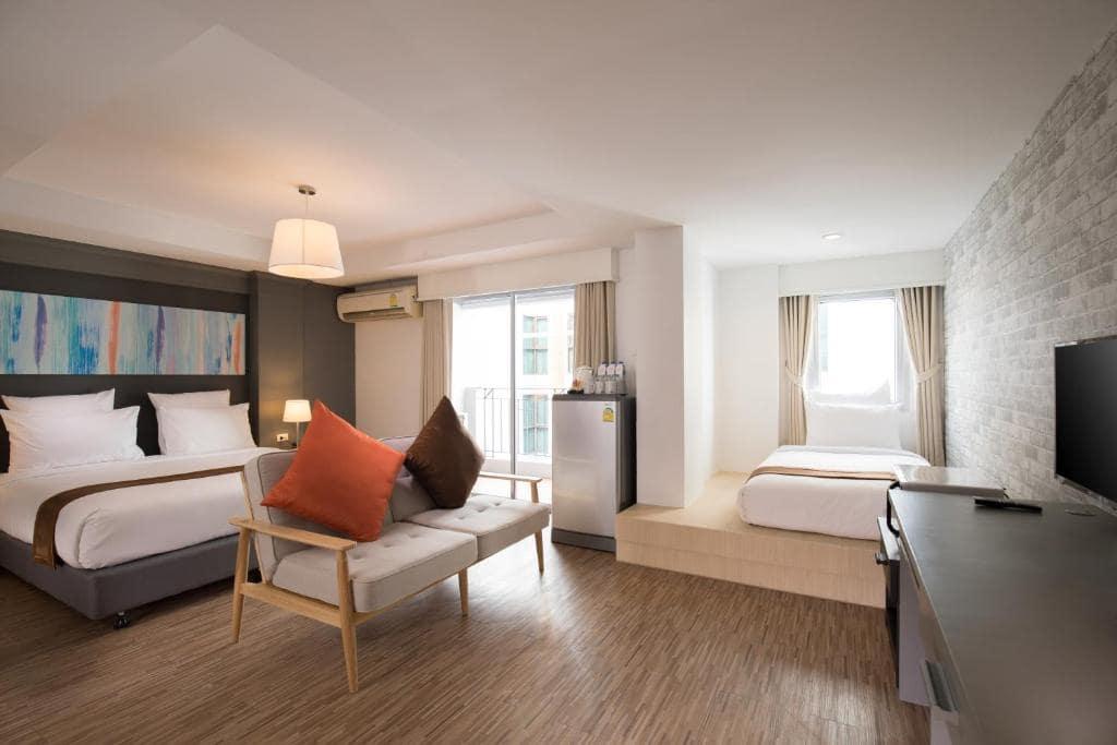 Oakwood Hotel Journeyhub Pattaya ลดราคาห้องพัก 30% + พัก  2 คืนฟรี 1 คืน เริ่มต้น 799 บาท!